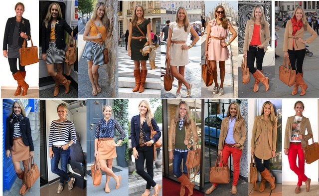 Blogger's European trip wardrobe.  Inspiring.  (I wouldn't choose a striped skirt that wouldn't go with the striped top.  I think every bottom should go with every top.)