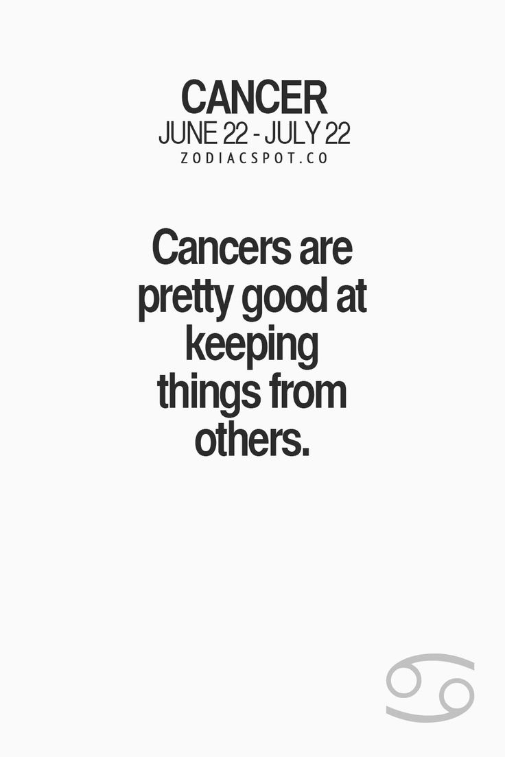 Cancer Zodiac Sign♋
