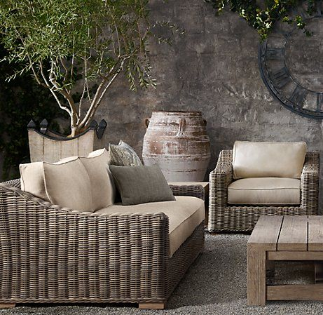 Outdoor Furniture By Restoration Hardware   Love That Its Called Provence!