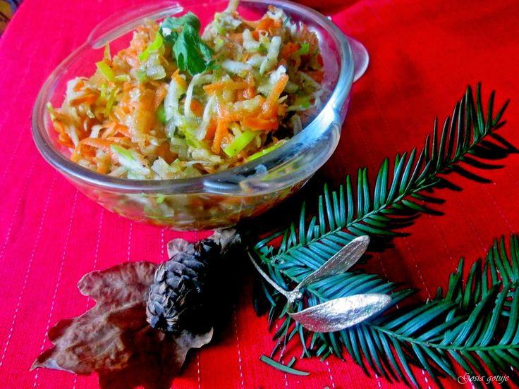 Gosia gotuje: Pyszna surówka  do obiadu