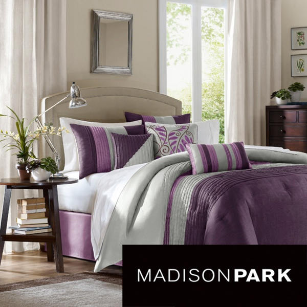 Madison Park Mendocino 7-piece Comforter Set | Overstock.com