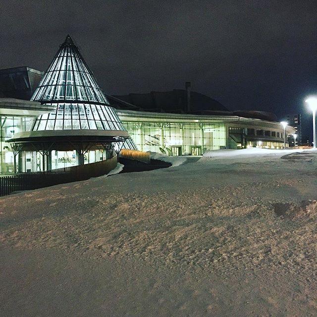 njpw1972 #NJPW in #Sapporo !!! #北海きたえーる #njnbg 北海道立総合体育センター「北海きたえーる」 2017/02/04 17:48:35