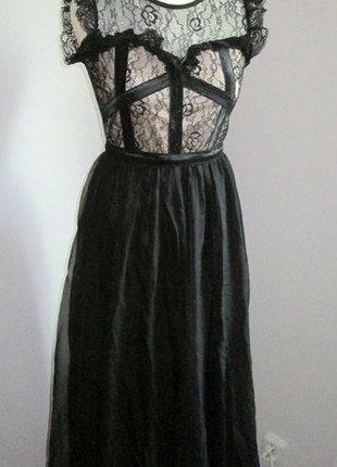 Kup mój przedmiot na #vintedpl http://www.vinted.pl/damska-odziez/dlugie-sukienki/9720630-nowa-efektowna-koronkowa-sukienka-maksi-maxi