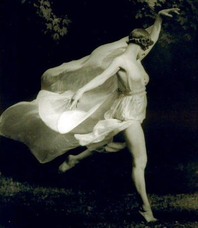 Isadora Duncan by Arnold Genthe c.1926