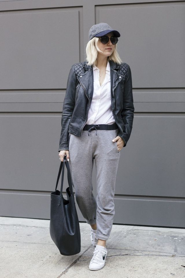 Image result for how to style sweatpants