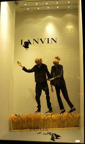 Lanvin Fall 2009 Windows