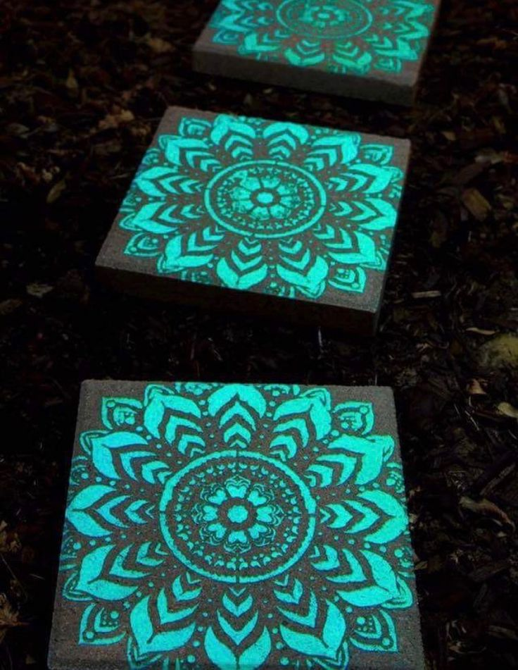 25 Best Painted Stepping Stones Ideas On Pinterest