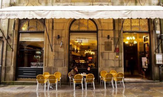 Café Bar Casino, Santiago de Compostela (Spain).