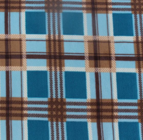 anti pill fleece print blue brown plaid hi res projects maybe pinterest plaid blue. Black Bedroom Furniture Sets. Home Design Ideas
