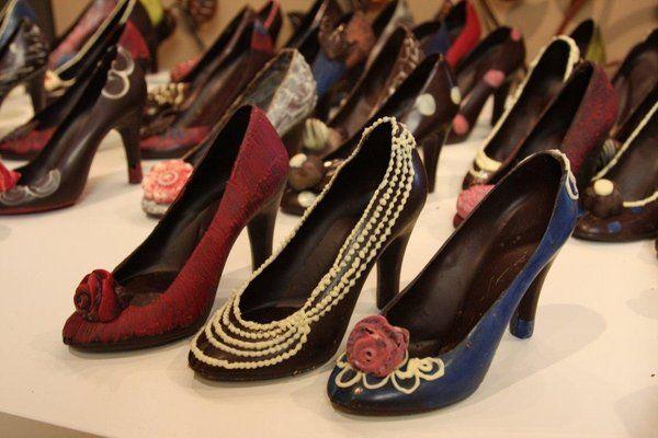 100% Edible Chocolate Shoes!