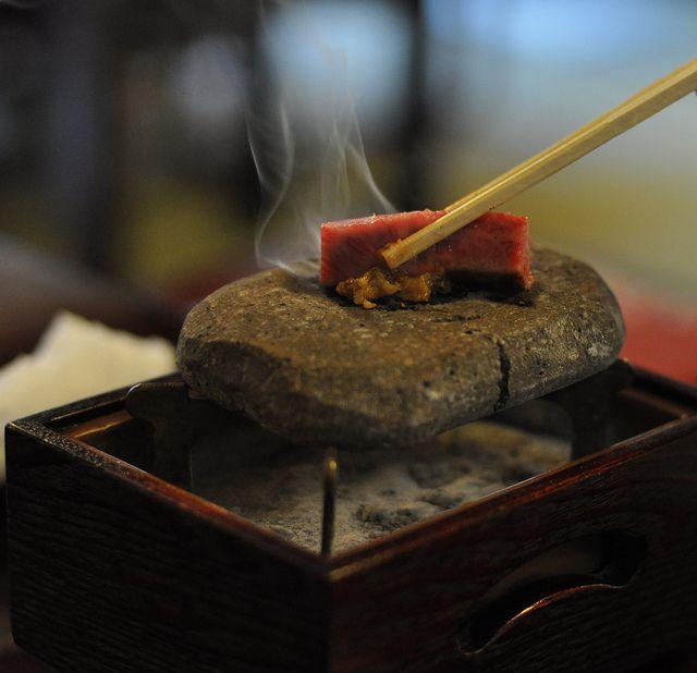 Hot stone + Kobe
