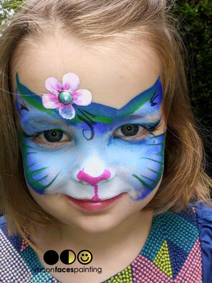 Rainbow Pegasus Unicorn Face Paint Design VIDEO Tutorial