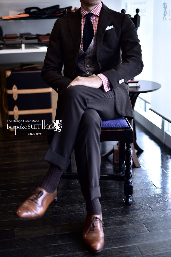 Suits: Ermenegildo Zegna,  Vest: HARRISONS OF EDINBURGH
