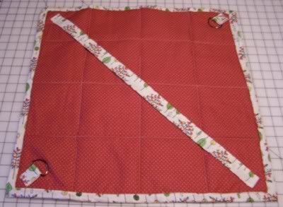 Quilted Insulated Casserole Carrier Tutorial - DL
