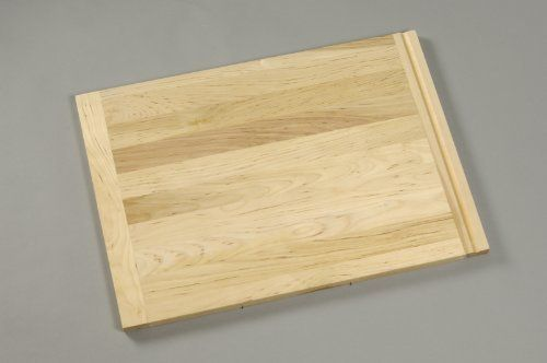 Wood Utility/Bread Cutting Board, 16 X 22 by Vance Industries. $45.99. Durable, long-lasting hardwood construction. Traditional knife-friendly cutting surface. Size: 16 x 22 x 3/4 inch. End cletes with routed pull-out. Reversible. Vance wood cutting boards are the natural choice for the traditional cutting board and trivet.  They are made of the finest hardwoods with a butcher block style construction to provide strength and lasting beauty.