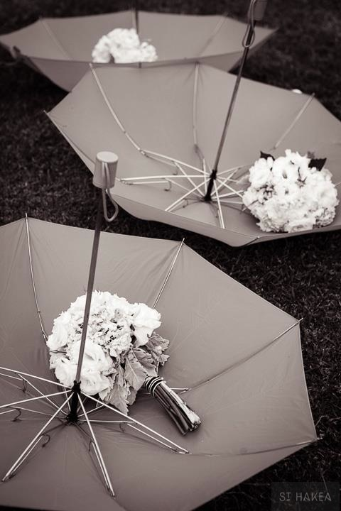 umbrellas & bouquets. Styled by St. Hakea sthakea.com