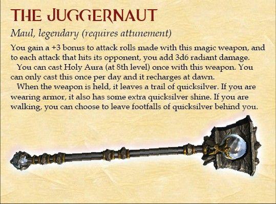 Juggernaut maul