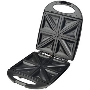 Buy Cookworks 4 Slice Sandwich Toaster - Stainless Steel at Argos.co.uk - Your Online Shop for Sandwich toasters.