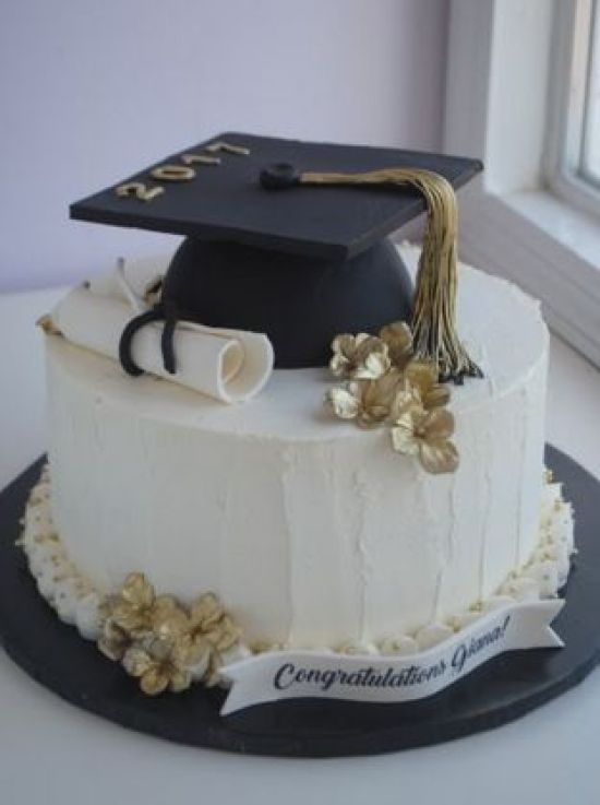 10 Graduation Cakes everyone loves at your party #finishes # their #homely #cake
