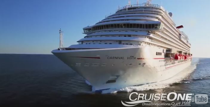 Check out the new Carnival Vista!
