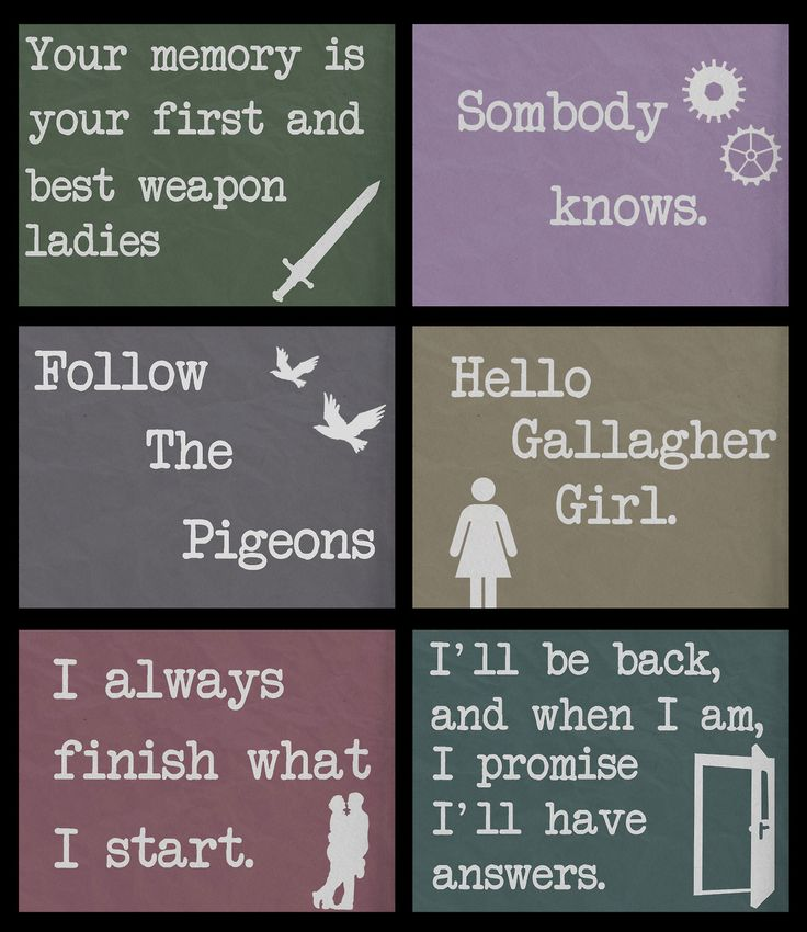 25+ Best Ideas About Gallagher Girls On Pinterest