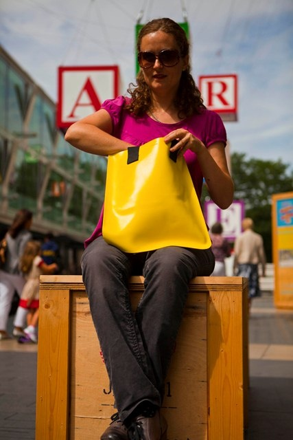 Southbank tote in yellow