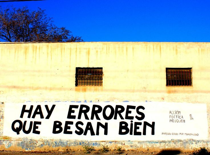 .Acción Poética - there are mistakes Who kiss very well..