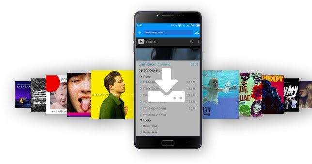 KeepVid | aplicación para descargar de material multimedia de portales de vídeo y música online como YouTube, Instagram o SoundCloud y mucho mas [Android]