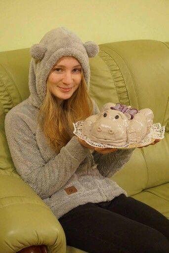 Babu hippo cake