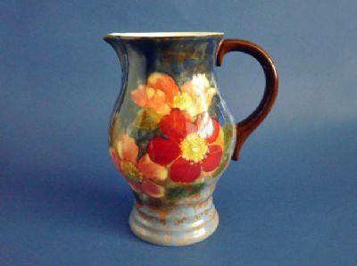 Royal Doulton 'Wild Rose' Series Lygon Flower Pitcher D6227 c1940
