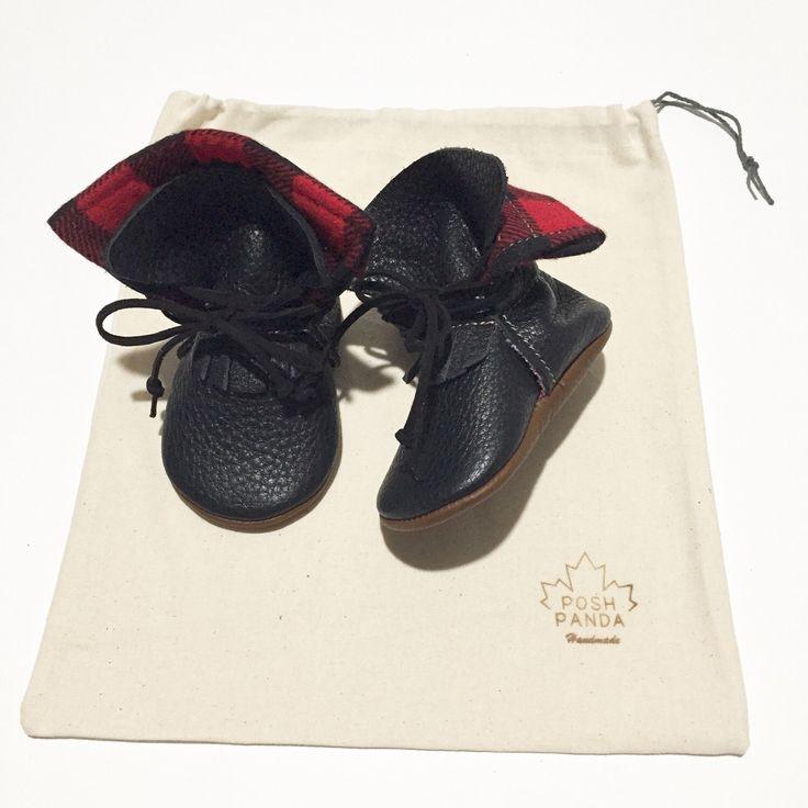 Black Lumberjack Boots by PoshPandaCanada on Etsy https://www.etsy.com/ca/listing/263495025/black-lumberjack-boots