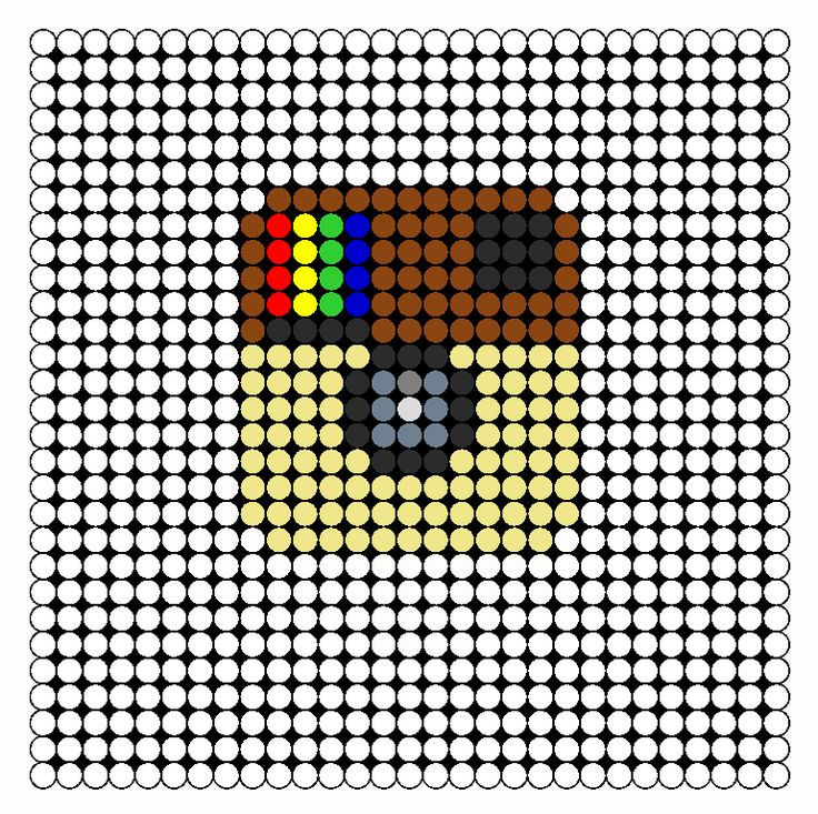 Instagram Perler Bead Pattern | Bead Sprites | Misc Fuse Bead Patterns