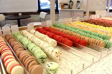 Sugar Fixe Macaron - Lincoln Park - for the city's first shop dedicated completely to macarons.