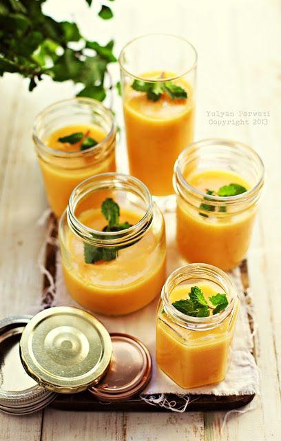 Cooking With Love: Puding Yogurt Mangga