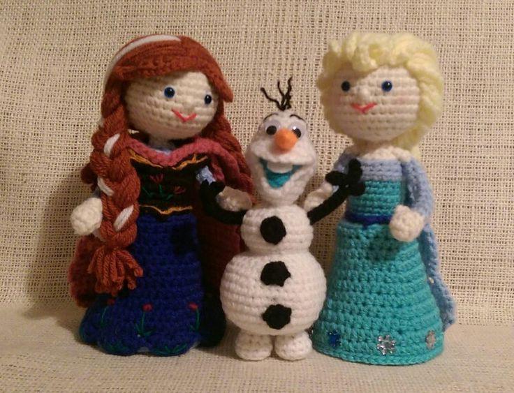 Crochet Frozen Doll : 100+ ideas to try about Crochet Amigurumi Dolls Crochet ...