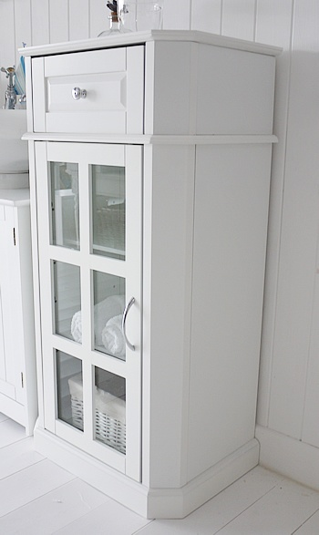 Free Standing Bathroom Cabinets White Glazed Free Standing Bathroom Cabinets Storage