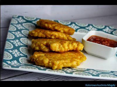 Kolorowa Kuchnia Magdy: Placki z kukurydzy