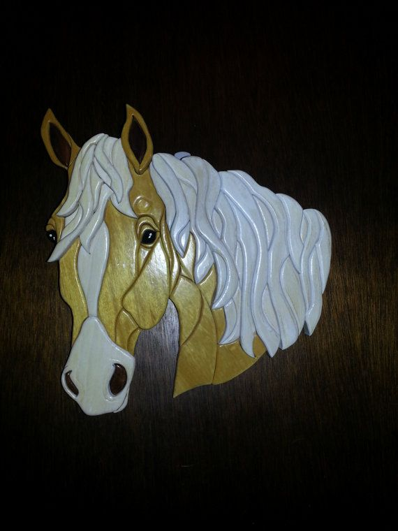 Horse Intarsia Wood                                                                                                                                                                                 More