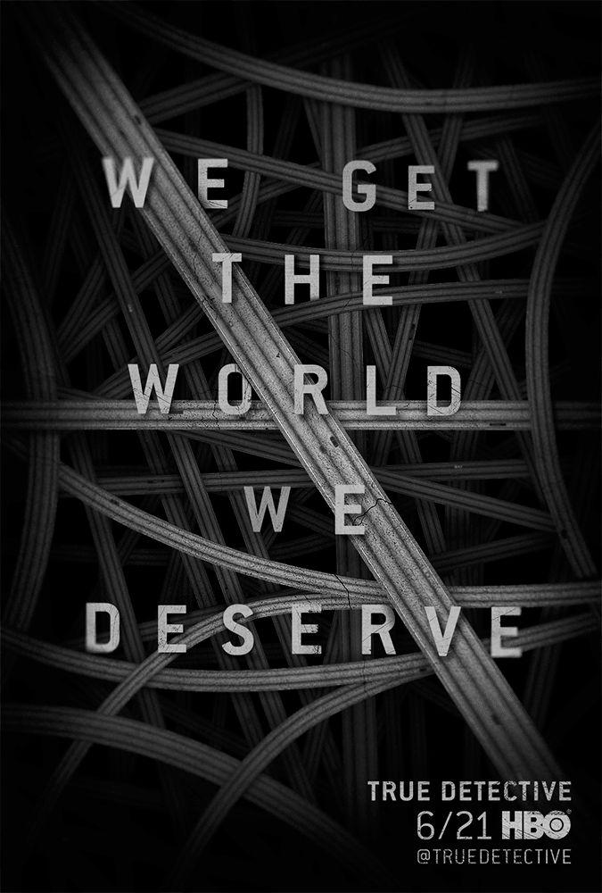 Exclusive 'True Detective' poster teases a dark season 2   EW.com