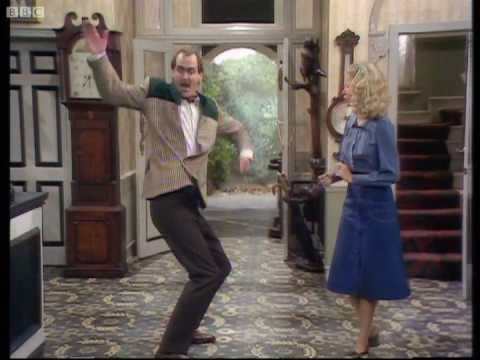 """John Cleese is hilarious in this clip from Fawlty Towers called """"Whose Fault Is It?"""""""