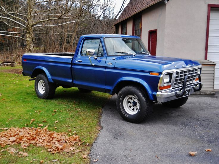 1979 Ford F-150 - Gorgeous color. :)