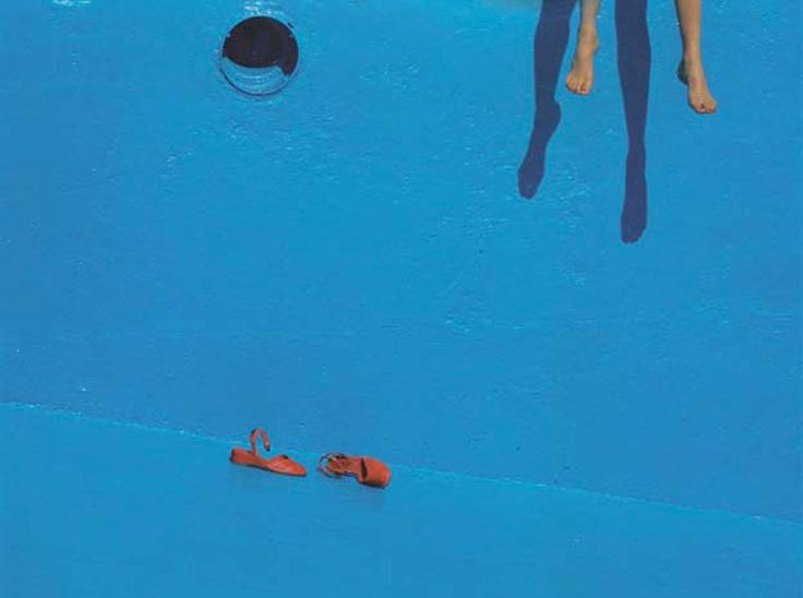 Guy Bourdin // Swimming Pool // Holiday