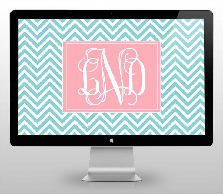 wallpaper free monogram desktop - photo #20