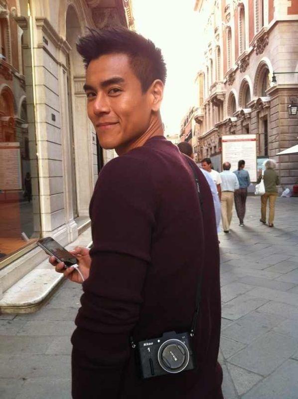 Ž�于晏帅气赴威尼斯 Ȃ�肌消风不脱衣 ǻ�图 Asian Men Hairstyle Asian Man