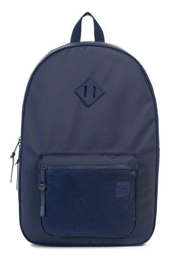 29a618e8ab HERSCHEL SUPPLY CO. RUSKIN STUDIO BACKPACK - METALLIC.  herschelsupplyco.   bags  backpacks  metallic