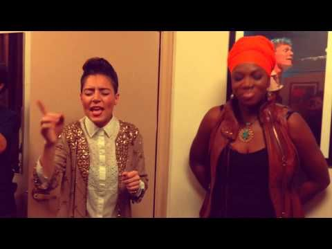 Emily King sings Radio with India Arie backstage at The Beacon Theater, NYC 2013 - YouTube