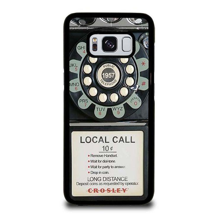 OLD PAYPHONE RETRO Samsung Galaxy S3 S4 S5 S6 S6 Egde S6 Edge Plus S7 S7 Edge S8 S8 Plus Note 3 4 5 8