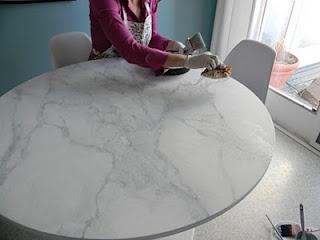 Painting Shiny Laminate Furniture