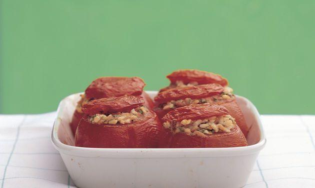 Gefüllte Tomaten mit Reis - Rezepte - Schweizer Milch