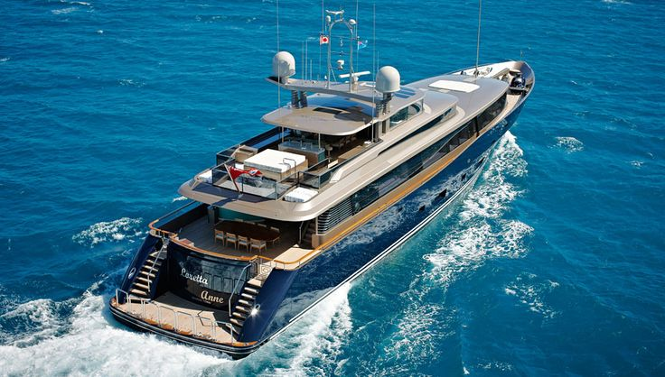 Alloy Yachts' latest launch, the 154-foot (47-meter) motor yacht Loretta Anne, has emerged from the New Zealand